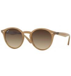 Gafas de sol RAY BAN R2180 ROUND Turtledove