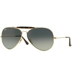 Gafas de sol RAY BAN 3029 OUTDOORSMAN II Gold Degradadas
