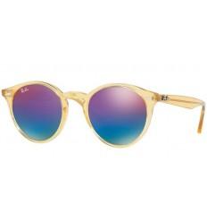 Gafas de sol RAY BAN R2180 ROUND Yellow / Blue - Violet