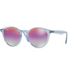 Gafas de sol RAY BAN R2180 ROUND Blue / Green - Violet