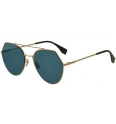 Gafas de sol Fendi Eyeline Rose Gold - Blue