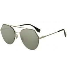 Gafas de sol Fendi Eyeline Light Gold - Grey