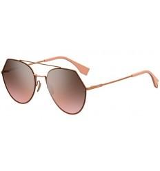Gafas de sol Fendi Eyeline Light Pink - Grey Brown Shaded Pink
