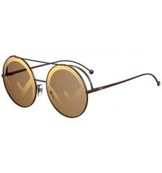 Gafas de sol Fendi Run Away Brown - Brown Gold