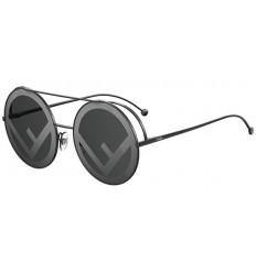 Gafas de sol Fendi Run Away Black - Grey