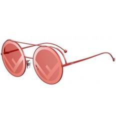 Gafas de sol Fendi Run Away Red - Coral Red