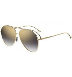 Gafas de sol Fendi Run Away Gold - Gold Grey Shaded
