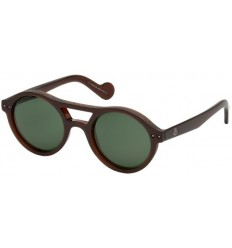 Gafas de Sol Moncler ML0037 Dark Brown - Green (50N)