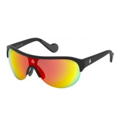 Gafas de Sol Moncler ML0049 Matte Black - Grey Multicolor (02C A