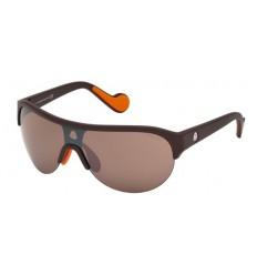Gafas de Sol Moncler ML0049 Matte Dark Brown - Brown (49L)