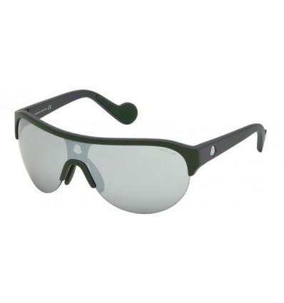 Gafas de Sol Moncler ML0049 Dark Green - Light Blue Grey (98C)