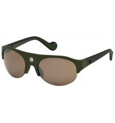 Gafas de Sol Moncler ML0050 Dark Green - Brown (98L)