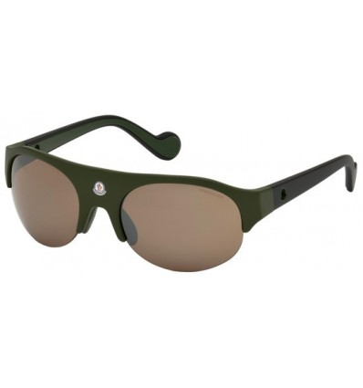 Gafas de Sol Moncler ML0050 Dark Green - Brown (98L)
