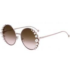Gafas de sol Fendi Ribbons and Pearls Pink - Brown Pink Shaded (35J-53)
