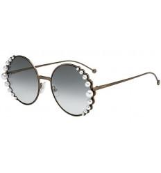 Gafas de sol Fendi Ribbons and Pearls Copper - Grey Shaded (J7D-EZ)