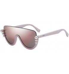 Gafas de sol Fendi Ribbons and Pearls Pink - Grey Pink (35J-0J)