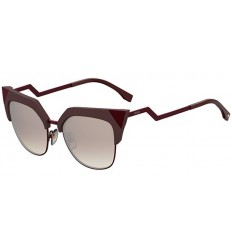 Gafas de sol Fendi Iridia Brown Burgundy - Brown Silver (LHF-NQ)