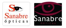 Logos Opticas Sanabre