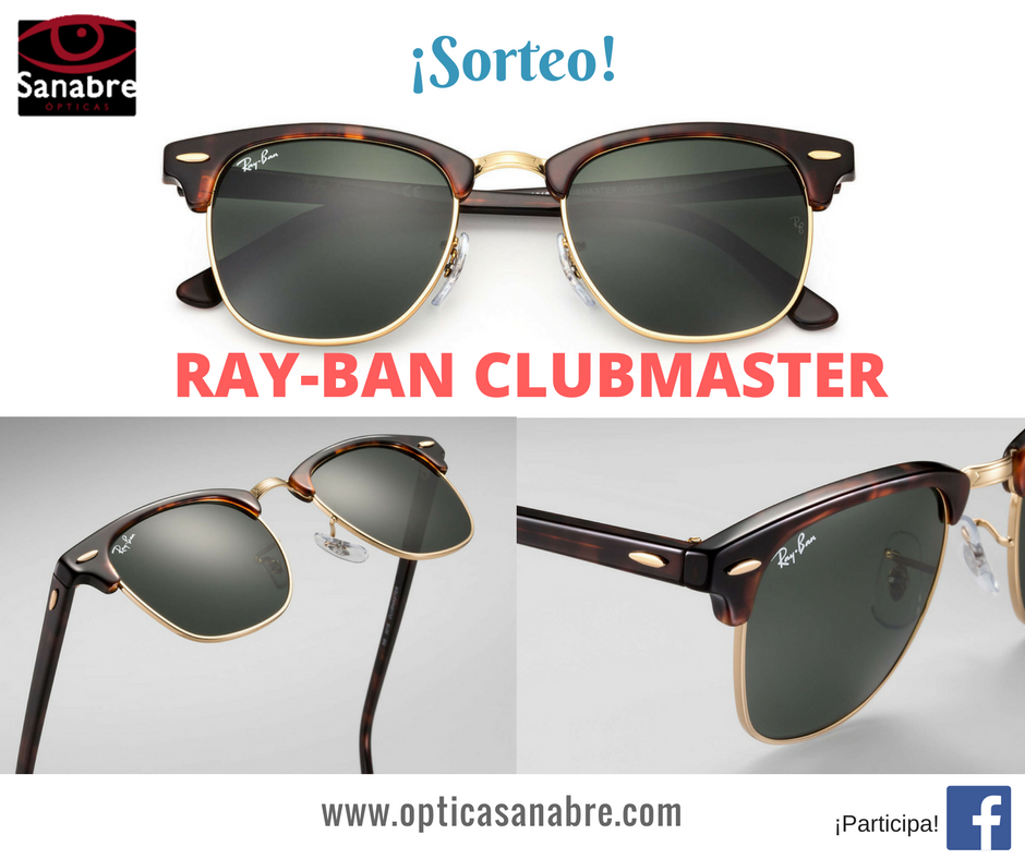 Sorteo Ray-Ban Clubmaster