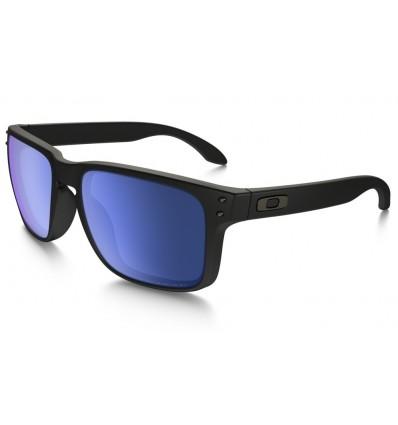 Gafas de sol OAKLEY 9102 HOLBROOK Matte Black / Ice Iridium POLARIZADAS