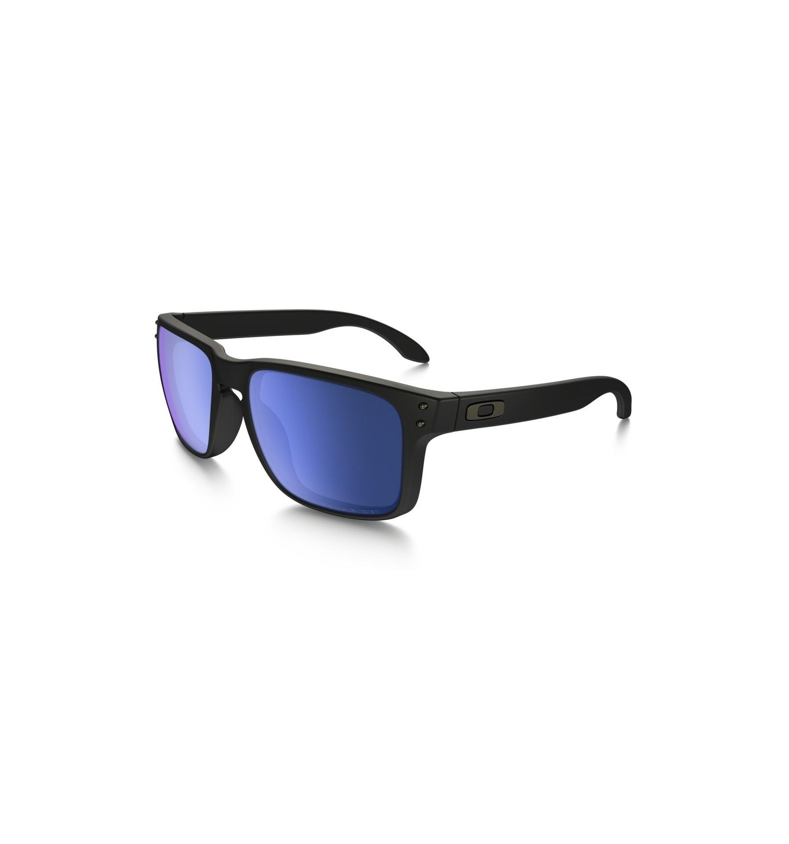 8f35f748fa261 Gafas de sol OAKLEY 9102 HOLBROOK Matte Black   Ice Iridium POLARIZADAS