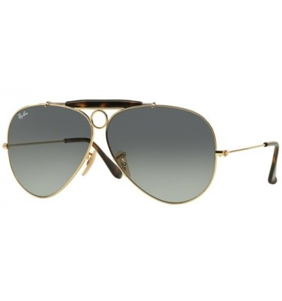 Gafas de sol RAY BAN 3138 SHOOTER Gold Dark