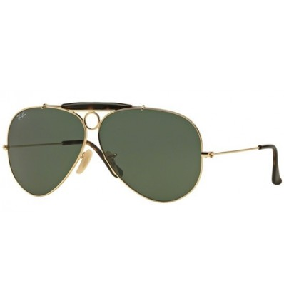 Gafas de sol RAY BAN 3138 SHOOTER Gold