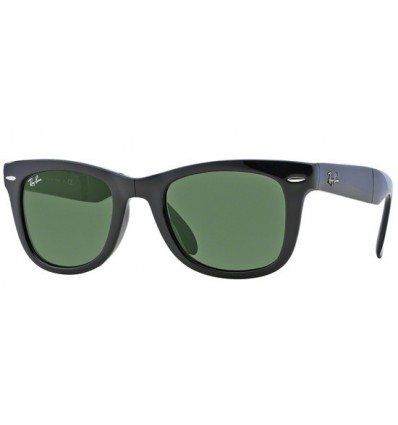 Gafas de sol RAY BAN RB4105 Wayfarer Folding Shiny Black