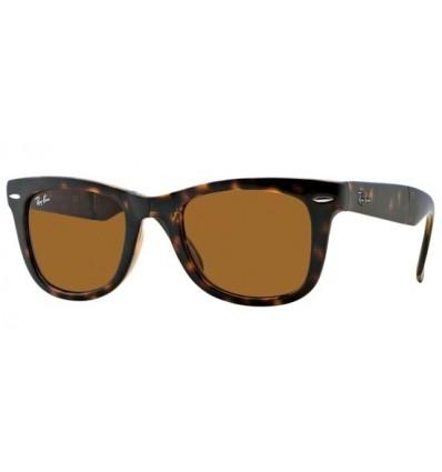 Gafas de sol RAY BAN RB4105 Wayfarer Folding Matte Black / Havana