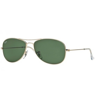 Gafas de sol RAY BAN RB3362 COCKPIT Gold / Grey Green