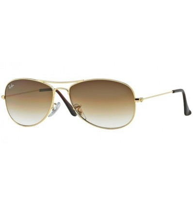 Gafas de sol RAY BAN RB3362 COCKPIT Gold / Brown Shaded