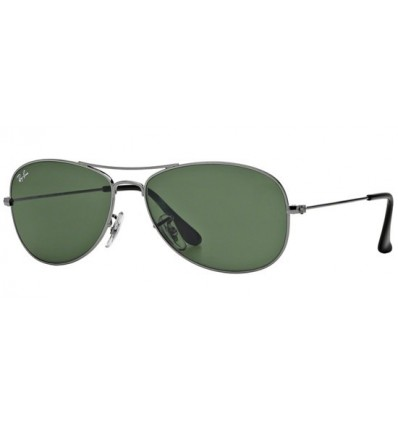 Gafas de sol RAY BAN RB3362 COCKPIT Ruthenium / Grey Green