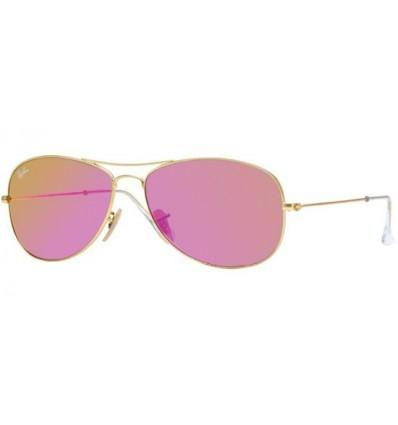 Gafas de sol RAY BAN RB3362 COCKPIT Gold / Grey Cyclamen Mirror