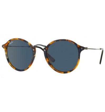 Gafas de sol RAY BAN R2447 ROUND FLECK Spotted Blue Havana