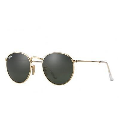 Gafas de sol RAY BAN 3447 ROUND METAL Gold