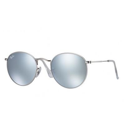 Gafas de sol RAY BAN 3447 ROUND METAL Matte Palladium Espejo