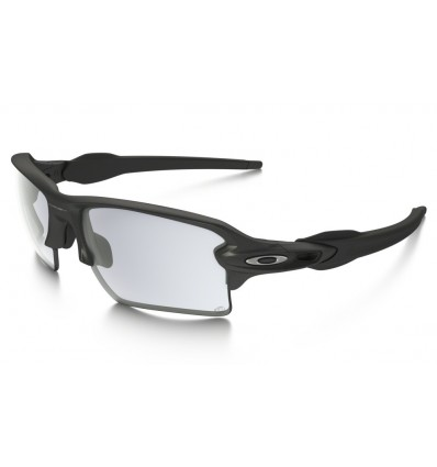 Gafas de sol OAKLEY 9188 FLAK 2.0 XL Steel / Clear Black Iridium Photochromic
