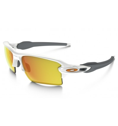 Gafas de sol OAKLEY 9188 FLAK 2.0 XL Polished White / Fire Iridium