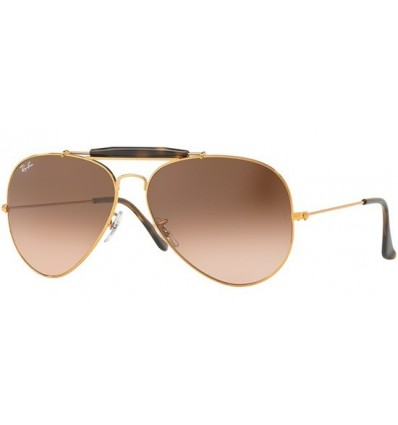 Gafas de sol RAY BAN 3029 OUTDOORSMAN II Cooper / Brown Pink