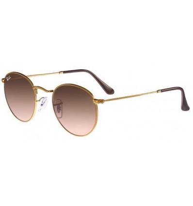 Gafas de sol RAY BAN 3447 ROUND METAL Light Cooper / Pink Mirror