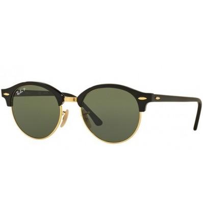 Gafas de sol RAY BAN 4246 Clubround Black Polarized