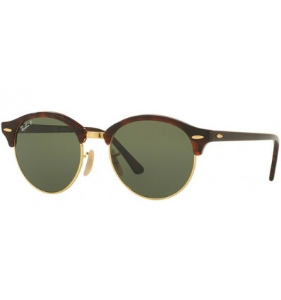 Gafas de sol RAY BAN 4246 Clubround Havana - GreenPolarized