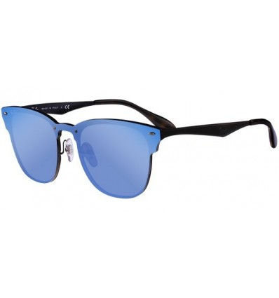 Gafas de sol RAY BAN RB3576 Blaze Clubmaster Black - Blue Mirror