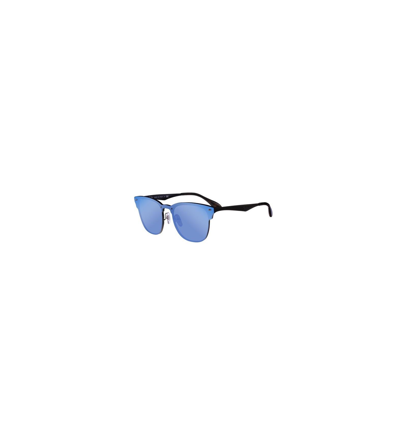 c895287e9f Gafas de sol RAY BAN RB3576 Blaze Clubmaster Black - Blue Mirror