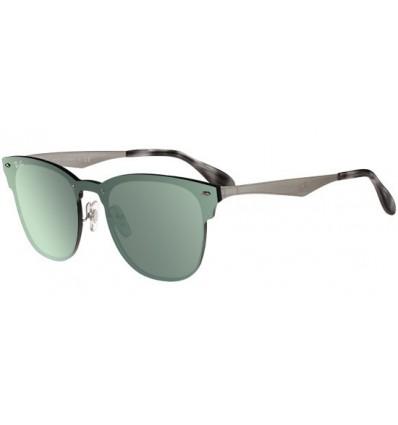 Gafas de sol RAY BAN RB3576 Blaze Clubmaster Silver - Green Mirror