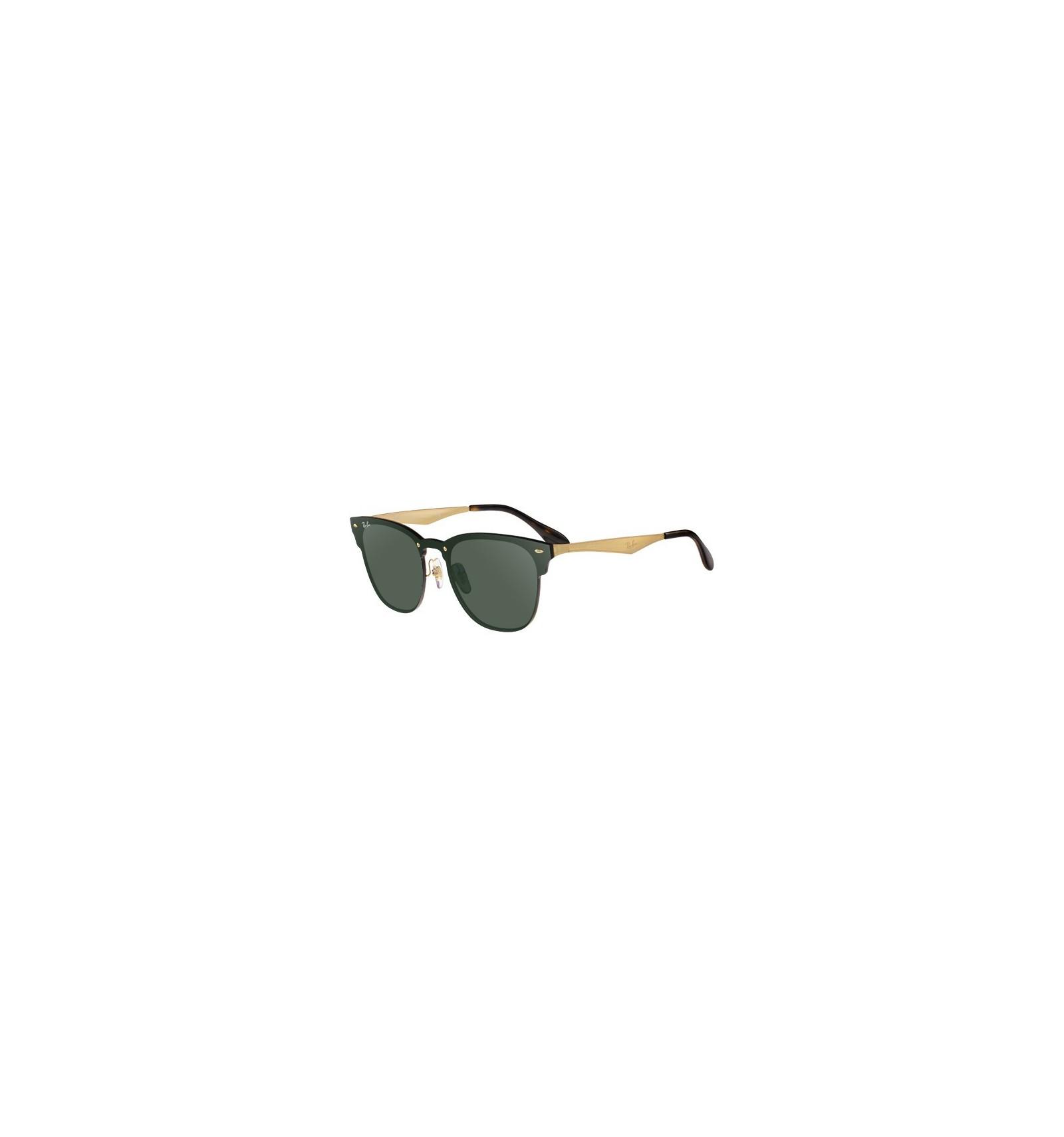 95d9a5f27f68e Gafas de sol RAY BAN RB3576 Blaze Clubmaster Gold - Green Mirror