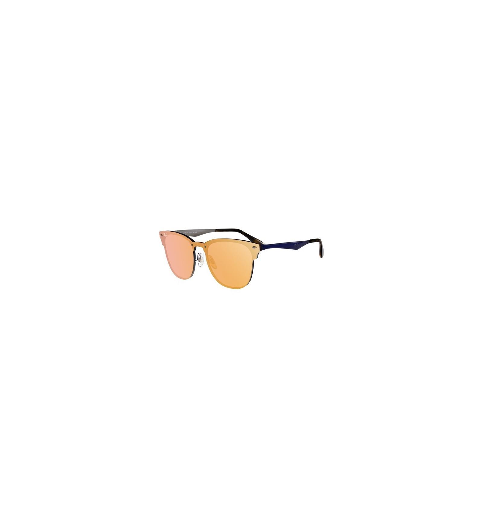 4a208696eb Gafas de sol RAY BAN RB3576 Blaze Clubmaster Blue - Orange Mirror