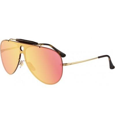 Gafas de sol RAY BAN RB3581 Blaze Shooter Gold - Pink Mirror