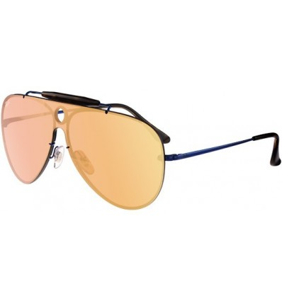 Gafas de sol RAY BAN RB3581 Blaze Shooter Black - Blue Mirror