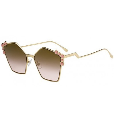 Gafas de sol Fendi Can Eye Gold / Brown - Pink Shaded